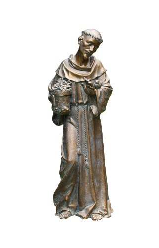 St  Francis Statue, St  Francis Garden Statue, St  Francis of Assisi